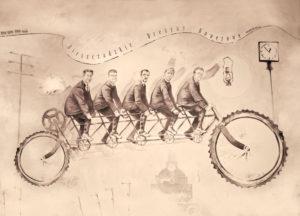 Pocztówka_rowery_Front_warm