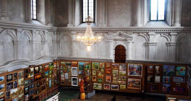Galeria Synagoga w Lesku